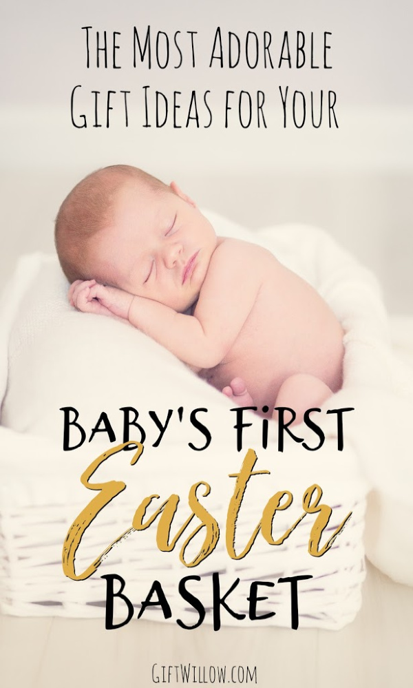 These gift ideas for baby's first easter basket will make your holiday so special and fun!  There are a lot of cute ideas for newborns and infants, so filling their Easter basket will be something you will always remember!