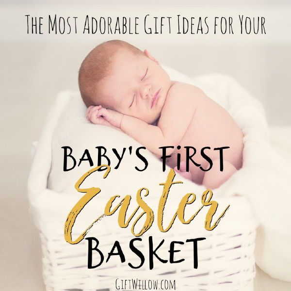 Coming up with filler ideas for your babys first Easter basket is something you will remember forever!  There are so many cute gift ideas for newborns and infants and Easter is the perfect time to spoil them. :)