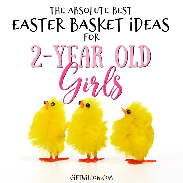 These Easter basket fillers for toddler girls will make your 2-year old so happy on Easter morning and so memorable for you!