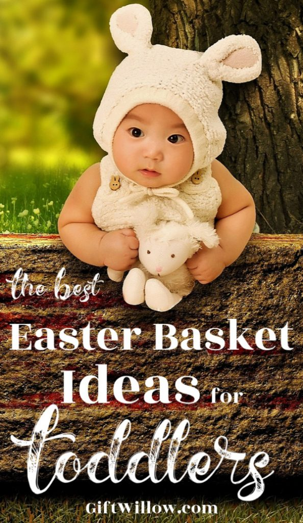 These Easter basket ideas for toddlers will make you the world's best Easter bunny this year!  All of these toddler Easter basket fillers are non-candy and affordable.  They'll make an adorable basket!
