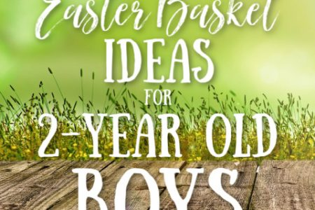 Easter Basket Fillers for 2-Year Old Boys