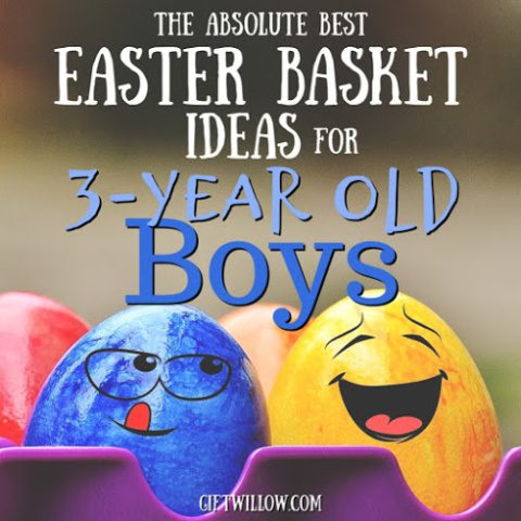 The Best Easter Basket Fillers for 3-Year Old Boys