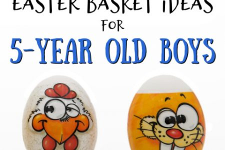 The Best Easter Basket Fillers for 5-Year Old Boys
