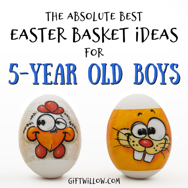 These Easter basket fillers for 5-year old boys will be a huge hit with your kids this year!