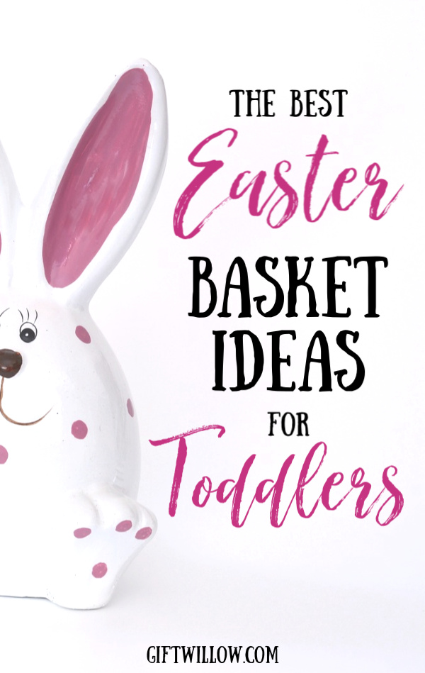 These Easter basket ideas for toddlers are the best way to start your Easter morning!  Nothing is more fun than putting together a toddler Easter basket, so enjoy it!