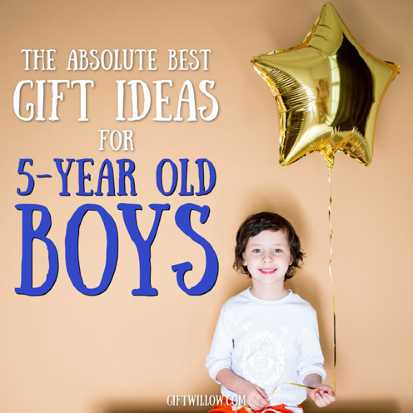 These gift ideas for 5-year old boys are the perfect present for your little guy. This is such a fun age, so enjoy every minute!