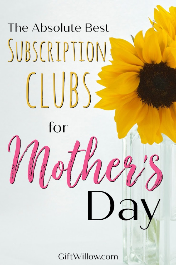 These subscription clubs for Mother's Day are the perfect last-minute gift idea and totally unique! These will be the gifts that your mom never forgets!