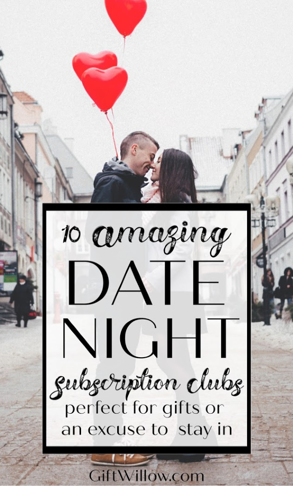 These subscription clubs make the best date night gift ideas that you can find for your significant other or as a gift idea for couples.  They're so much fun and a great idea for staying in for the night.