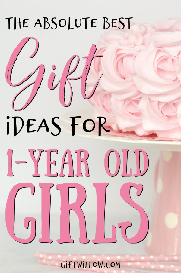 These are the best gifts for 1-year old girls that are sure to please your newly minted toddler!  All of these gift ideas for 1-year olds have been huge hits and will make parents as excited as the kids.