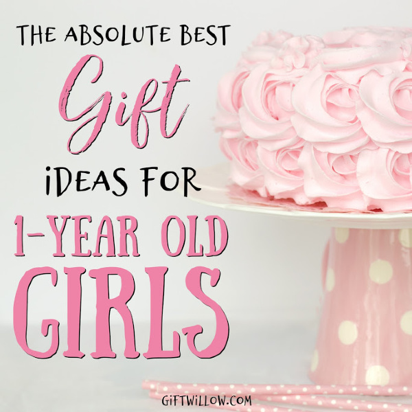 These gift ideas for 1-year old girls are sure to please both your toddler and their parents!  They're educational, adorable, and a lot of fun.