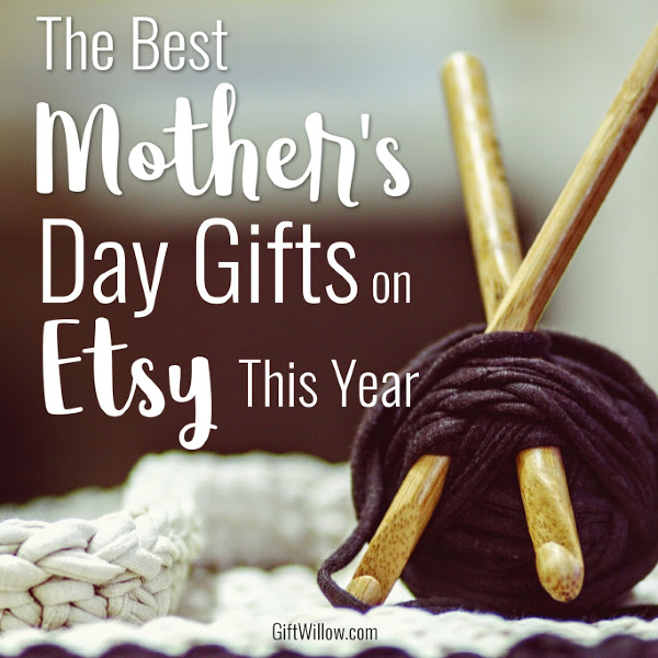 These are the best Mother's Day gifts Etsy has to offer!  Sentimental, thoughtful, and practical gift ideas that mom will love!