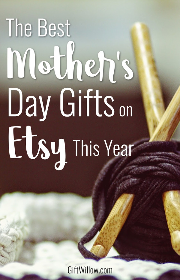 Mother's Day gifts on Etsy are always the biggest winners!  They're thoughtful, sentimental, and always make the best gifts for moms, no matter what their interest is.