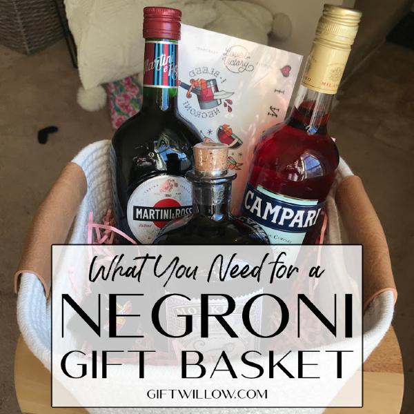 An Amazing DIY Negroni Gift Basket Idea